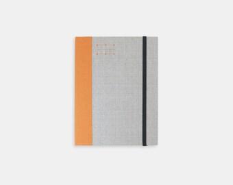 Fabric Bound Weekly Journal – Orange