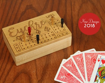 Euchre is a lot like sex.....  Euchre Score Counter, Solid Wooden Euchre Counter Set -Laser Engraved, Masterpiece