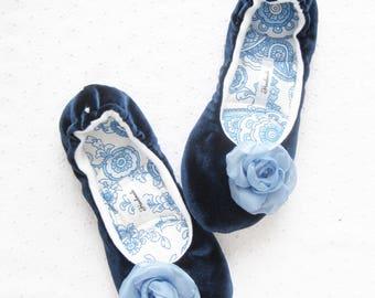 Home Slippers, Modern Rustic Style, Valentines day gift, Handmade Slippers, Women's Slippers, Soft Slippers, Ballet Slippers, Gift for girl,