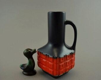 Vintage vase made by Eckhard & Engler / 4872 15   West German Pottery   60s