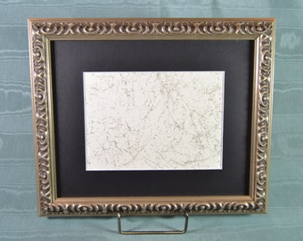 Picture Frame - Ornate Silver Photo Frame - Wood Picture Frame