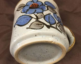 1970's Vintage Stoneware Octagiri Style Mug