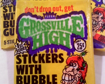 Trading Cards- Grossville High