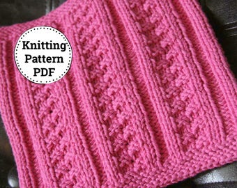 Knitting Pattern | Dishcloth Pattern | Ivy Towers