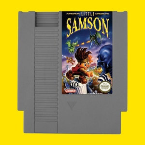 Little Samson NES reproduction game, little samson repro, little samson nintendo game, clean tested and working perfectly, USA seller!