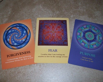 3 Card The Soul's Journey Oracle Guidance Spread