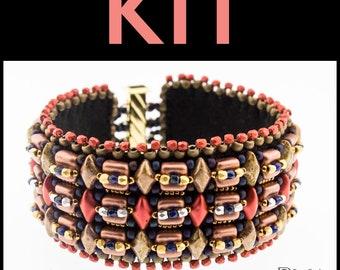 In the Groove Cuff Bracelet-  KIT