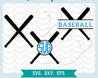 Baseball bat. Baseball bat frame. SVG, Ai, EPS, DXF. Cutting files. Transfer baseball bat, stencil baseball bat, silhouette baseball bat