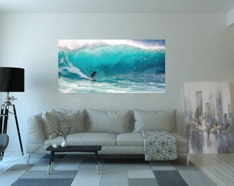 surf print, digital download, surf art, wall Decor, surfing, living room decor, surfs up, surfing download