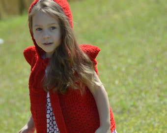 Red Ridding Hood Cape
