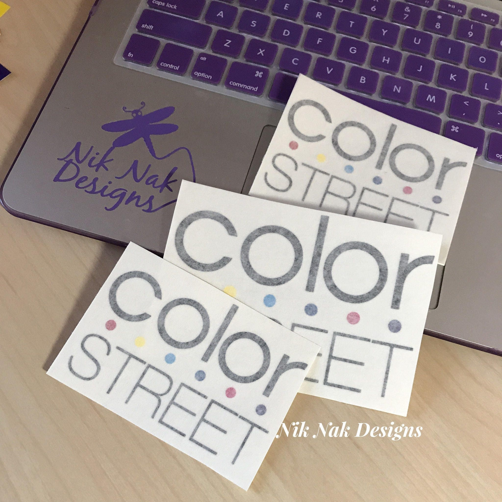 Color Street Decal Color Street Logo