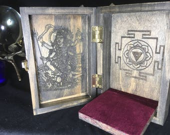 Kali Portable Travel Altar Box