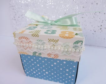 Explosion baby boy - perfect for a birthday gift box