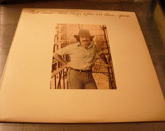Paul Simon Still Crazy After All These Years on Columbia Records 1975 Grammy Winner Original Vintage Vinyl