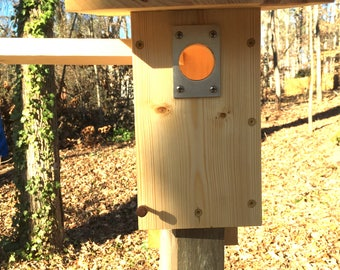 NABS Eastern Bluebird Nest Box Natural