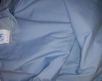 No. 499 fabric cotton sky blue color lycra