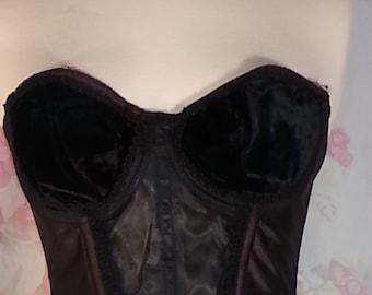 Vintage black bra