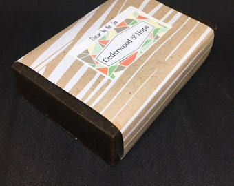 Cedarwood and Hops Soap