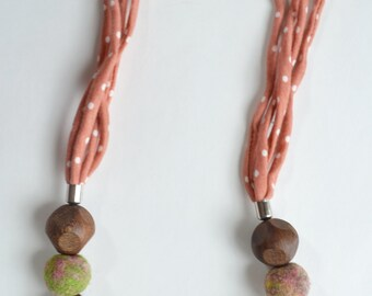 Handemade necklace--Gift from Nature-