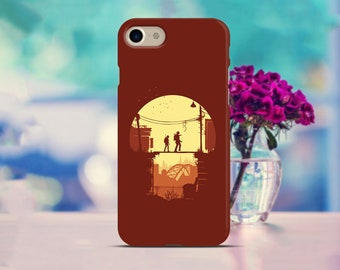 Last of Us Pixel 2 case Red Samsung S8 case Joel and Ellie Galaxy case Red Iphone X case Last Of Us Google Pixel case Iphone 8 case Gifts