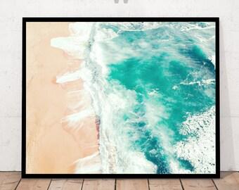 Art Print, Beach Print, Beach Art, Beach Ocean Print, Beach Ocean, Photography Print, Tropical Print, Summer Print, Beach Photography