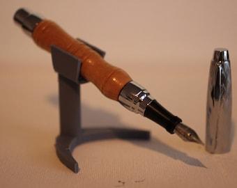 Curly Maple Presimo fountain pen