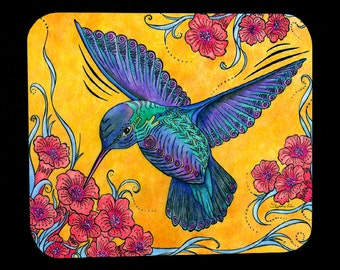 Hummingbird Mousepad for computers