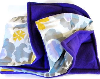Extra Large Heat Pad, Weighted Lap Blanket, Microwave Heating Pad Flax Big Rice Pack, Heated Throw Blanket, Unique Wedding Gift Idea