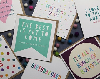 Pack of 5 Cards // Choose your own set