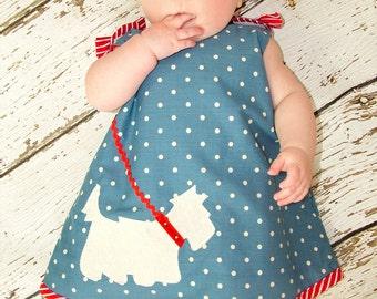 Baby Sewing Pattern pdf, Baby Dress Pattern, Childrens Sewing Pattern, Baby Clothing Pattern, Toddler Pattern, Baby patterns, SCOTTIE