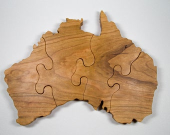 Custom Country Puzzles - Australia - Any Country