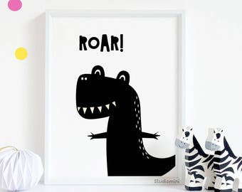Dinosaur room decor,SALE kids room prints, nursery wall art, baby girl nursery, kids room printable, boy nursery decor,nursery wall art BOYS