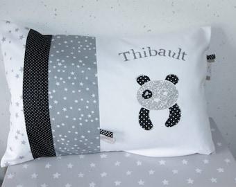 My little Panda 30 x 50 custom personalized pillow