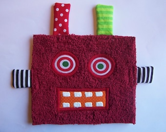 Red Hot Robot Patch