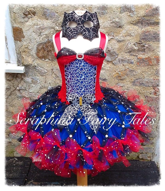 Spider Woman Tutu Dress