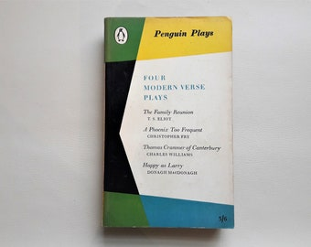 Four Modern Verse Plays - 1961 - Martin Browne - Penguin Plays Book - Paperback book - Second hand books