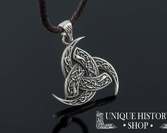 Odin pendant etsy odins horn pendant with wolf ornament sterling silver handcrafted viking jewelry aloadofball Gallery