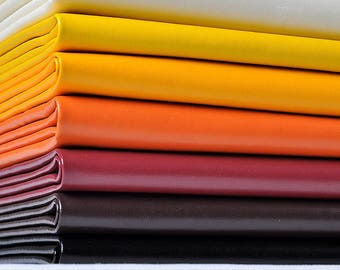 NAPPA Lines Artificial Leather Fabric, Fine Lines, Upholster Leather, More Than 120 Colors With PU Faux Leather Fabric, By The Half Yard