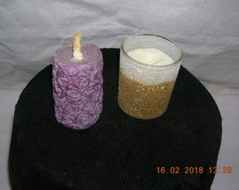 S.P candle-1 / 1-Jasmine vanilla.