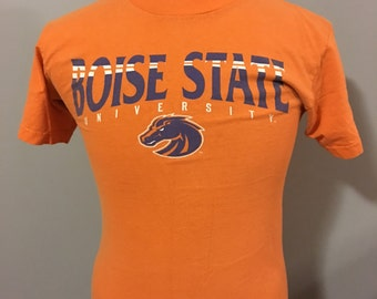 Vintage Boise State University T-Shirt, Size:  Small
