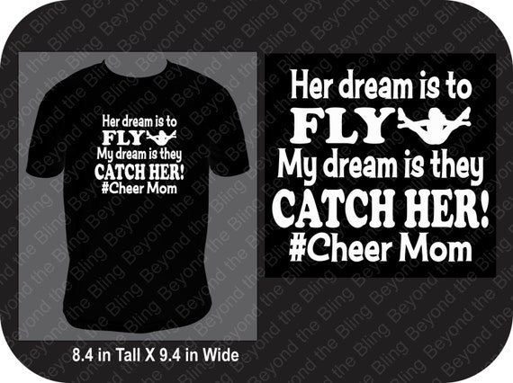 Cheer Mom Shirt Flyer Cheer Shirt Flyer Cheer Mom Shirt
