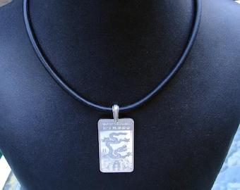 Half Ounce .999 Silver Bar Necklace