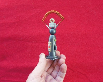 Miniature Steampunk Mad Scientist Electronic Apparatus