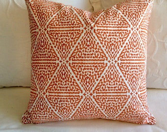 Miguel Papaya pillow cover 18x18 20x20 22x22 24x24 26x26 13x26 12x20