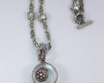 Through the Looking Glass Necklace Bead Kit
