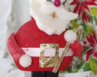 Vintage Santa: 1960s Styrofoam Craft Kitsch
