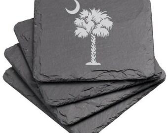 South Carolina Palmetto - Coaster Set
