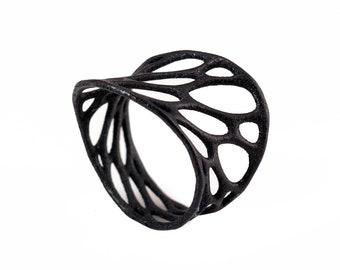 1-layer twist ring (3D printed nylon)