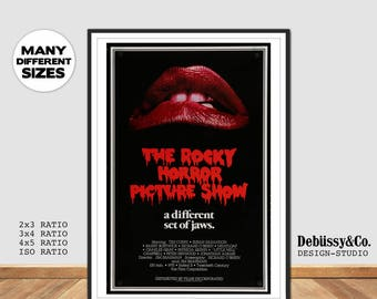 The Rocky Horror Picture Show Poster, print, Tim Curry Poster, Art print