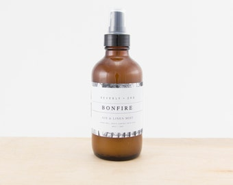 BONFIRE Air and Linen Mist | Scented Room Freshener, Home Fragrance Spray